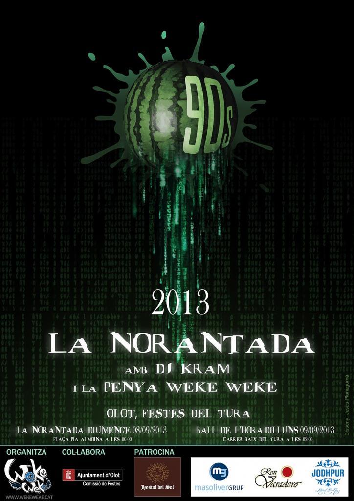 Cartell Norantada 2013